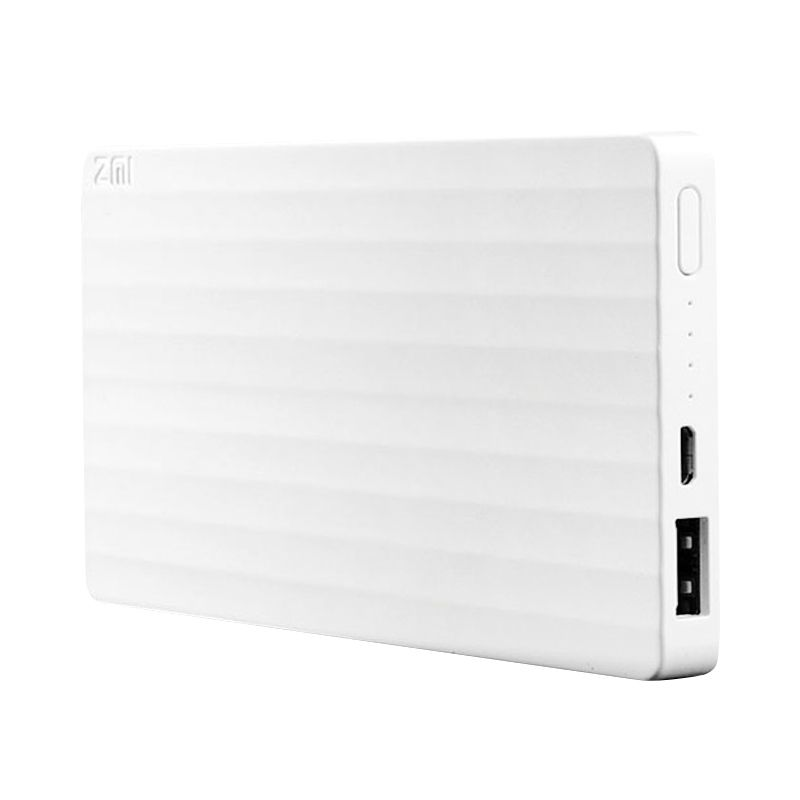 Xiaomi ZMI Putih Powerbank [10000 mAh]