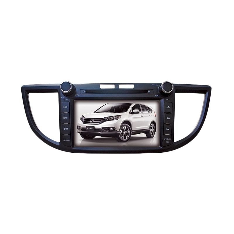 MRZ Head Unit Double Din with GPS Original untuk Honda CRV [8 Inch]