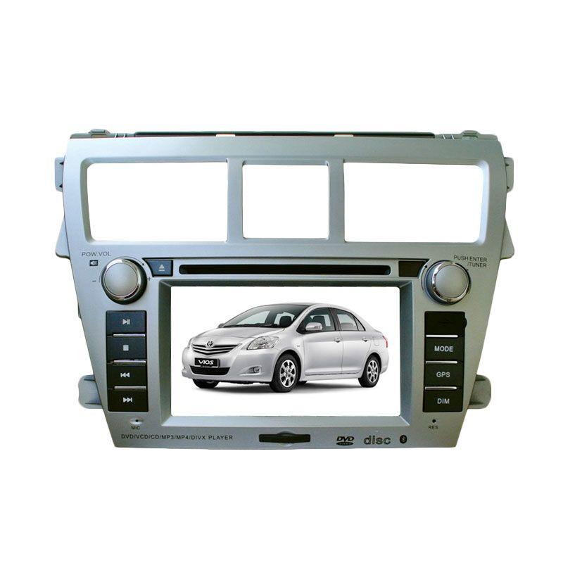 MRZ Head Unit Double Din with GPS Original untuk Toyota Vios [6.5 Inch]