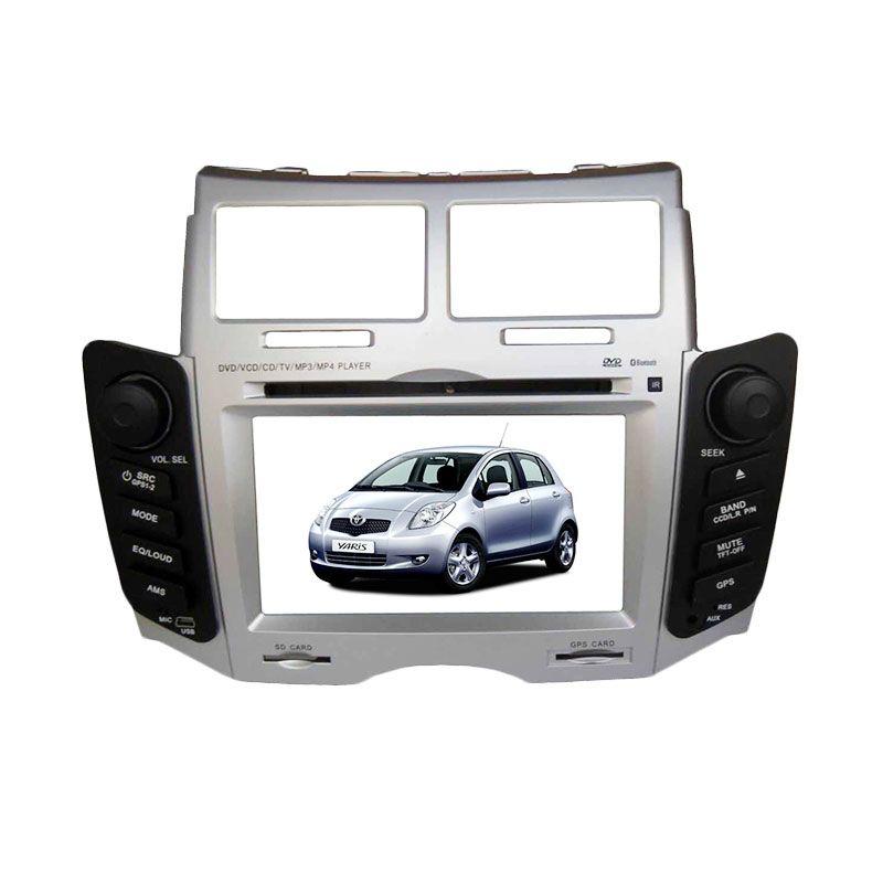 MRZ Head Unit Double Din with GPS Original untuk Toyota Yaris [6.5 Inch]