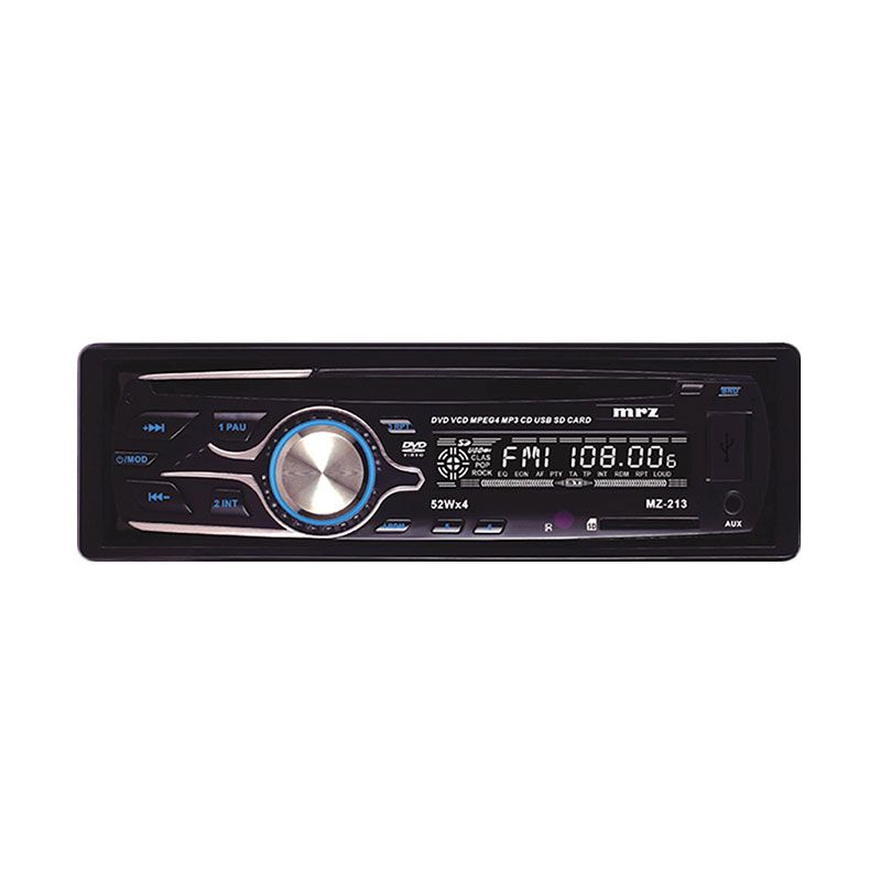 MRZ MZ-213 Hitam Head Unit Single Din