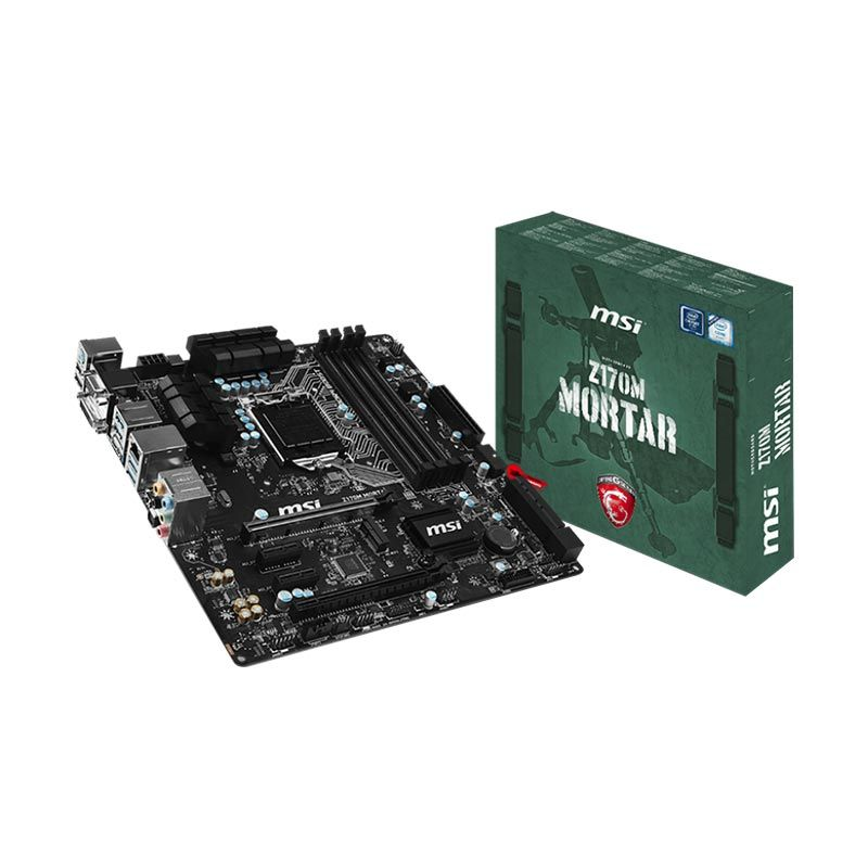 MSi Z170M Mortar Motherboard