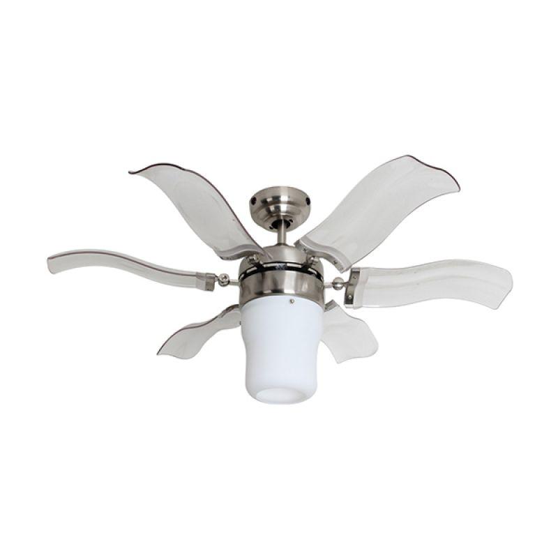 harga MT. EDMA BLOOM BN Baling Clear Kipas Angin Dekorasi Gantung Plafon Ceiling Fan 42 Inch Blibli.com