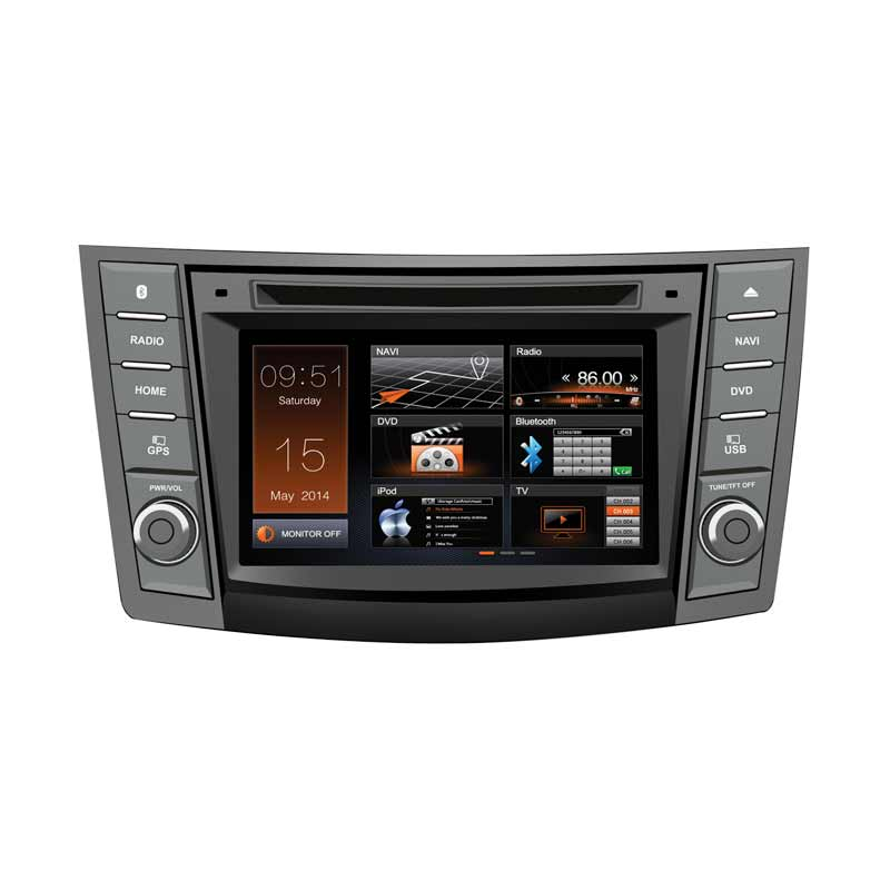 MOBILETECH HD Capacitive Original Headunit Double Din for Suzuki Ertiga [6.2 Inch]