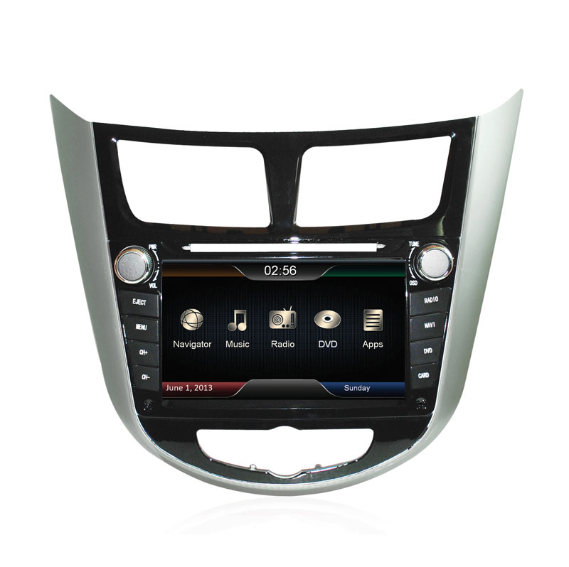 MOBILETECH OEM Head Unit Double Din for Hyundai Avega [7 Inch]