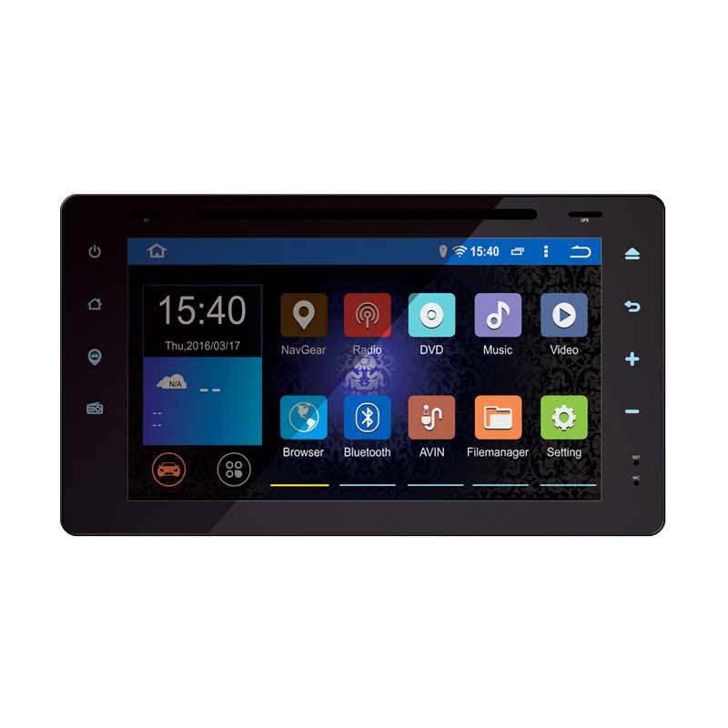 MOBILETECH Original Headunit Double Din for Alphard Android [8 Inch]
