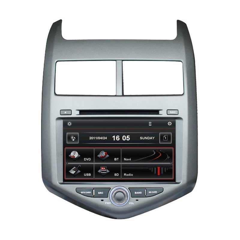 MOBILETECH Original Headunit Double Din for Chevrolet Aveo [7 Inch]