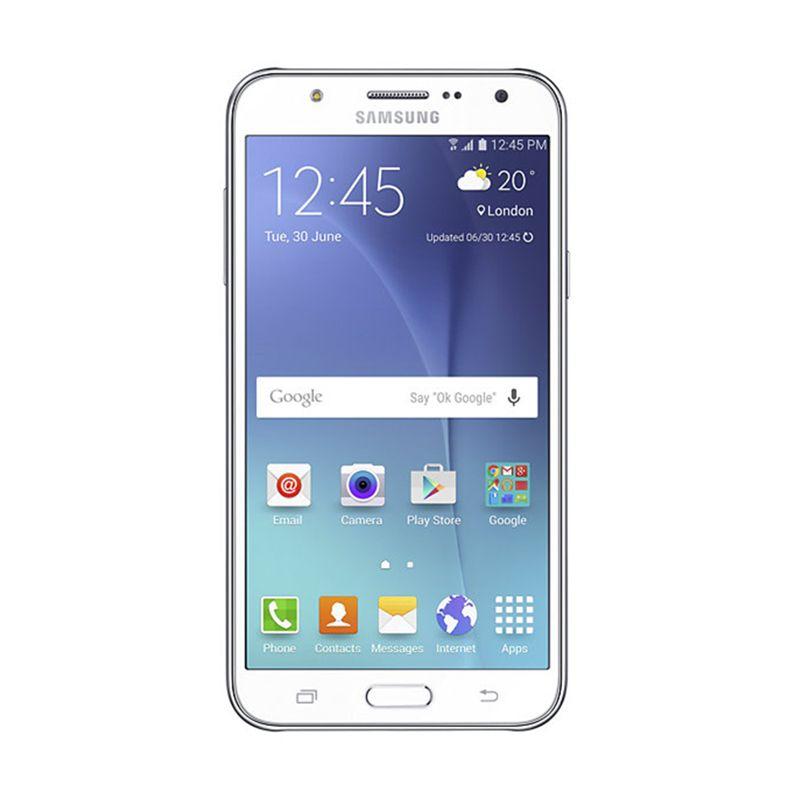 Samsung Galaxy J7 J700 Putih Smartphone