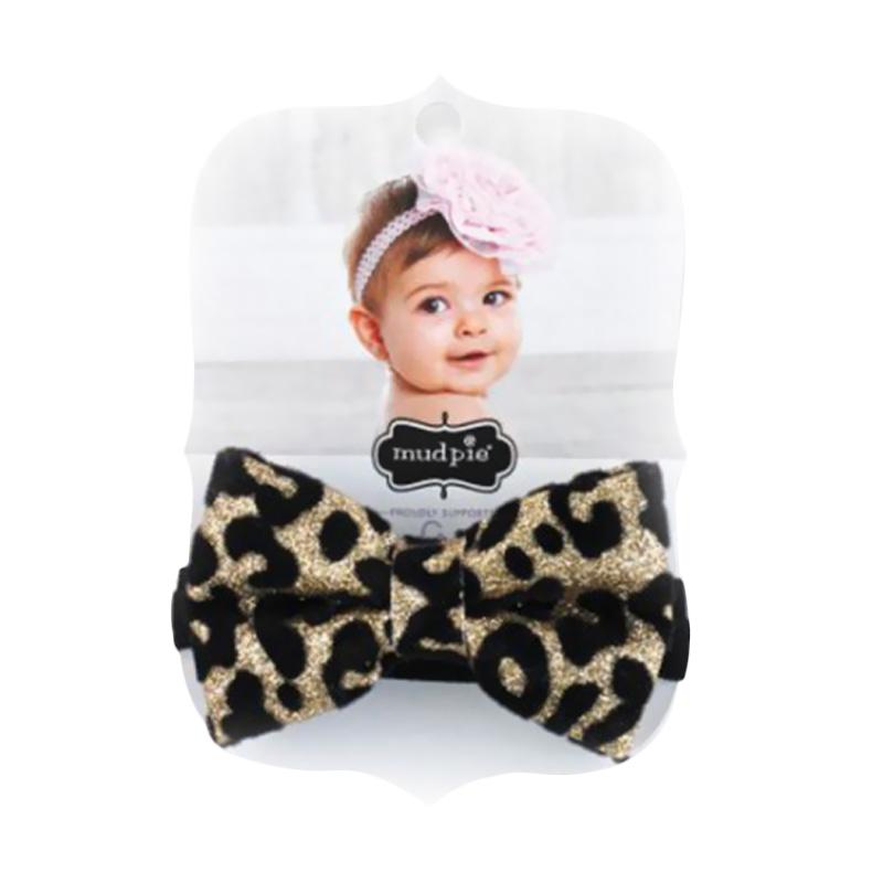 Mudpie #1512053 Leopard Glitter Soft Headband