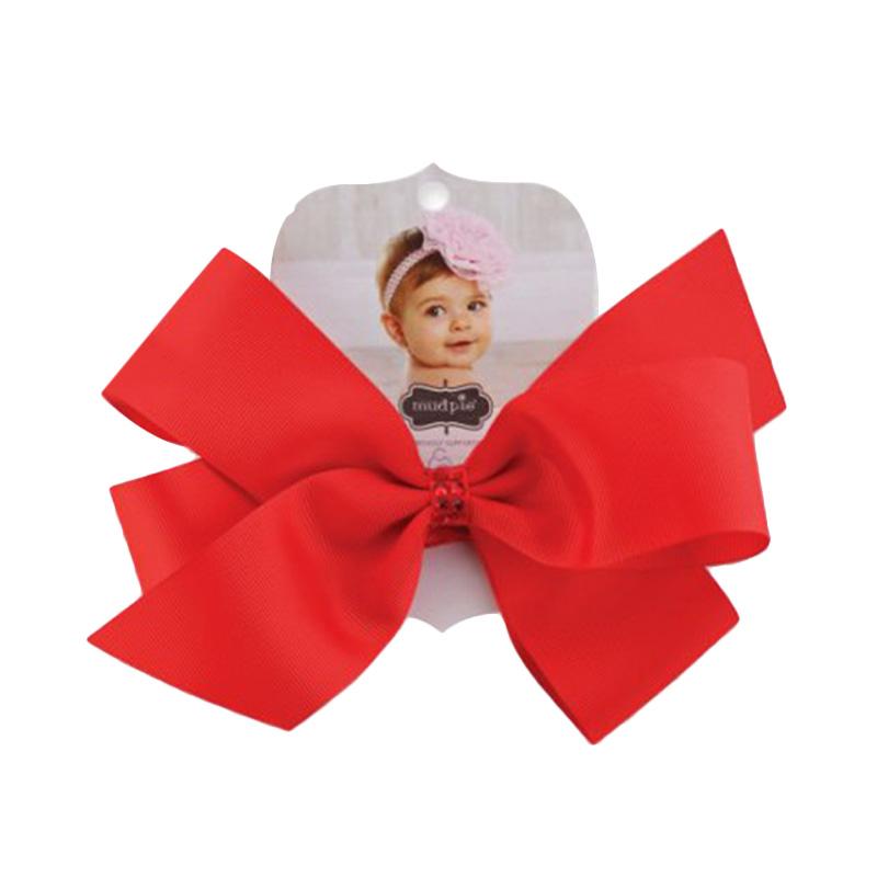 Mudpie #1512069 Jumbow Soft Headband - Red