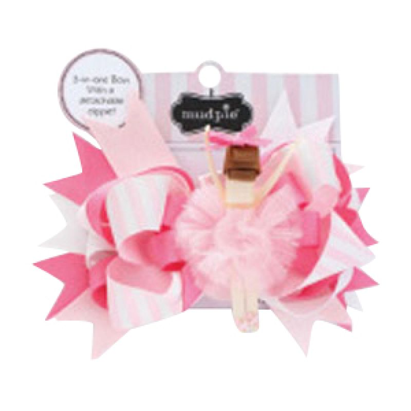 Mudpie - Ballet 3-in-1 Bow Brown