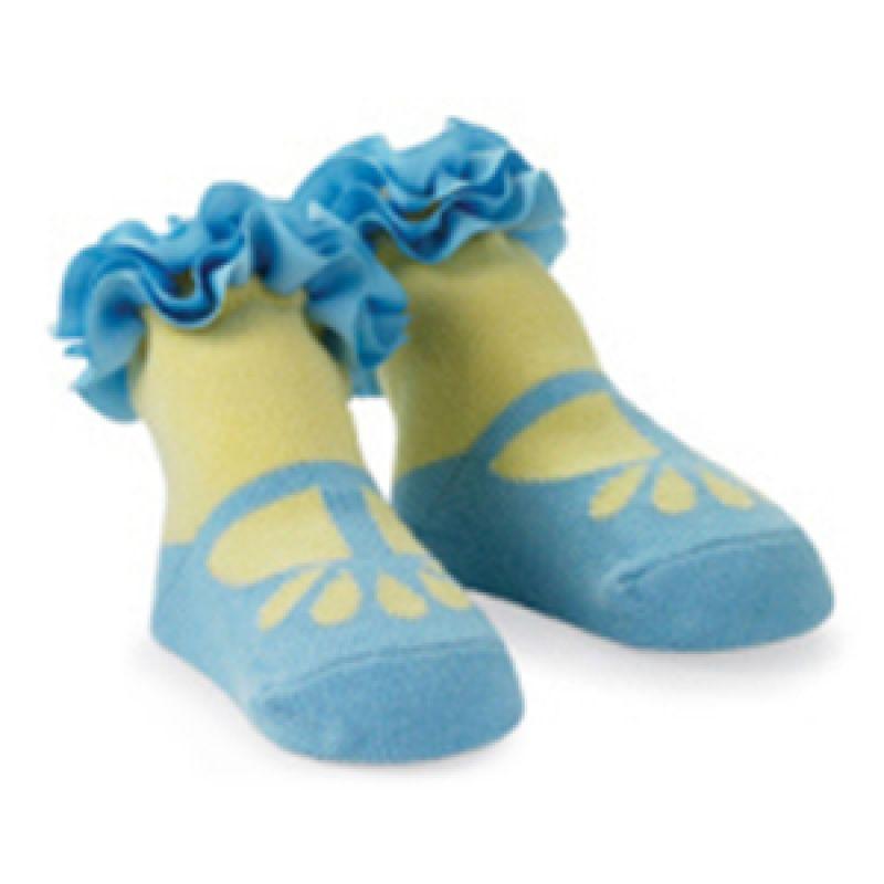 Mudpie - Blue Girls Socks Polos