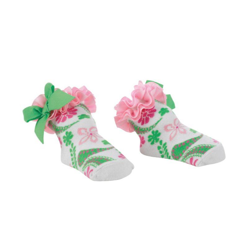 Mudpie - Girl Paisley Socks