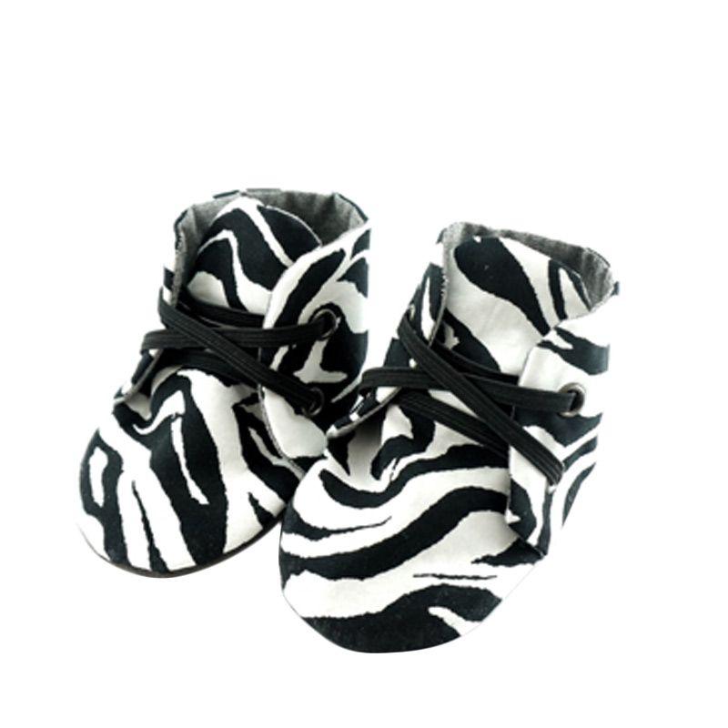 Muffin Booties Wild Zebra Sepatu Bayi