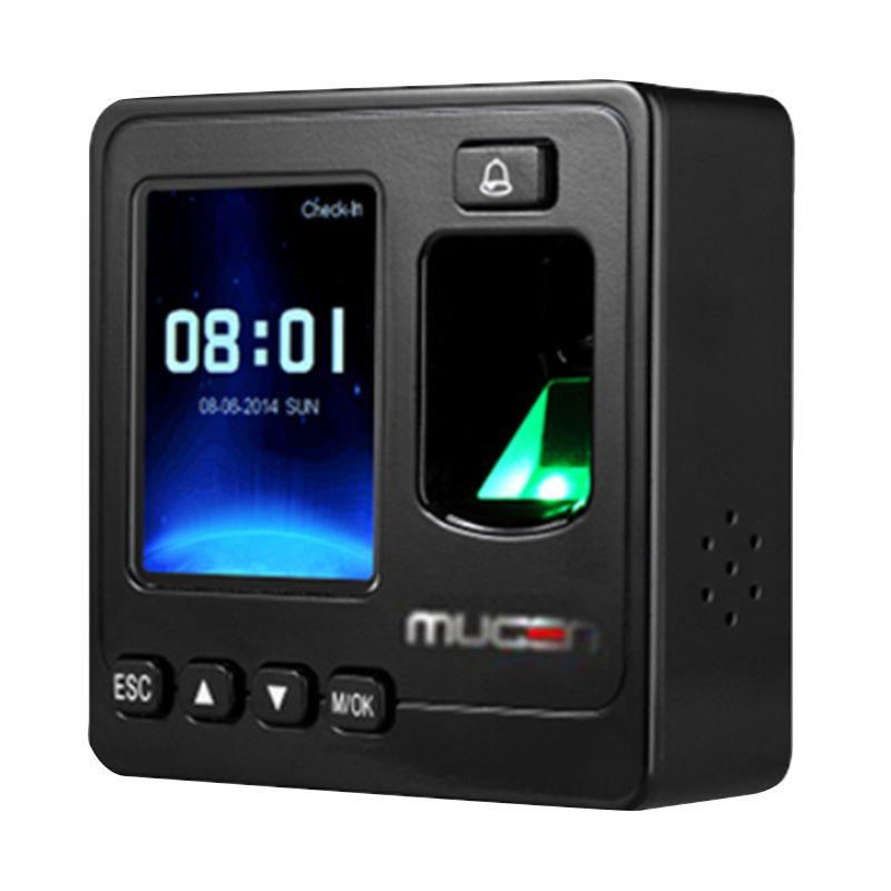 Mugen MGS100 Hitam Mesin Access Door [Sidik Jari dan Kartu]