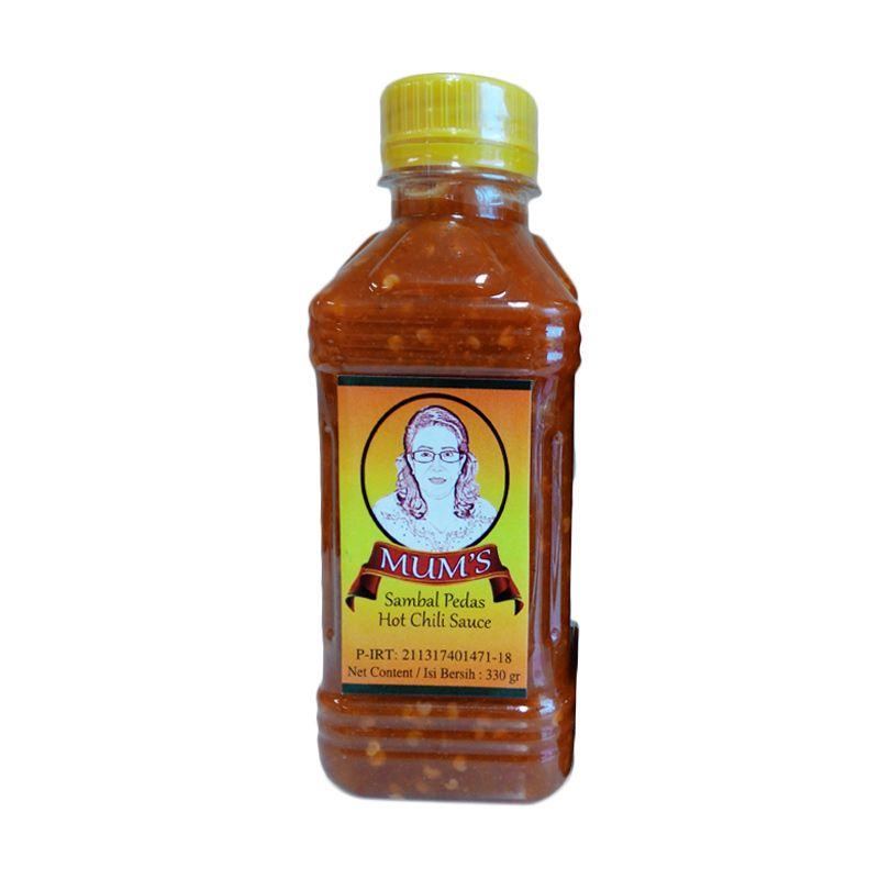 Mum's Sambal Pedas Hot Chili Sauce Bottle [330 gr/1 Pcs]
