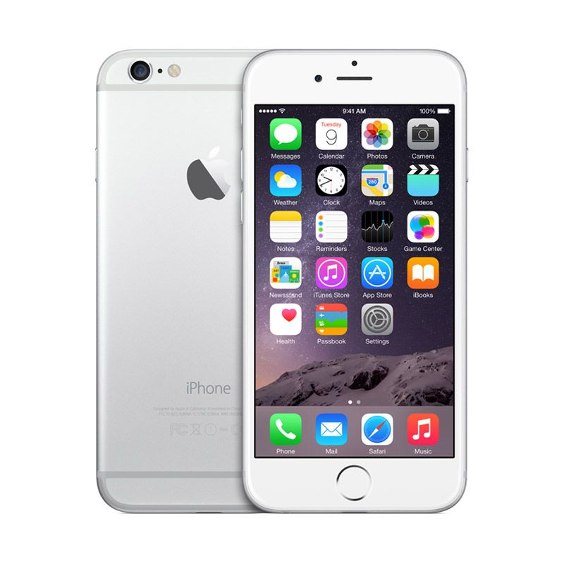 Apple iPhone 6 64 GB Silver Smartphone