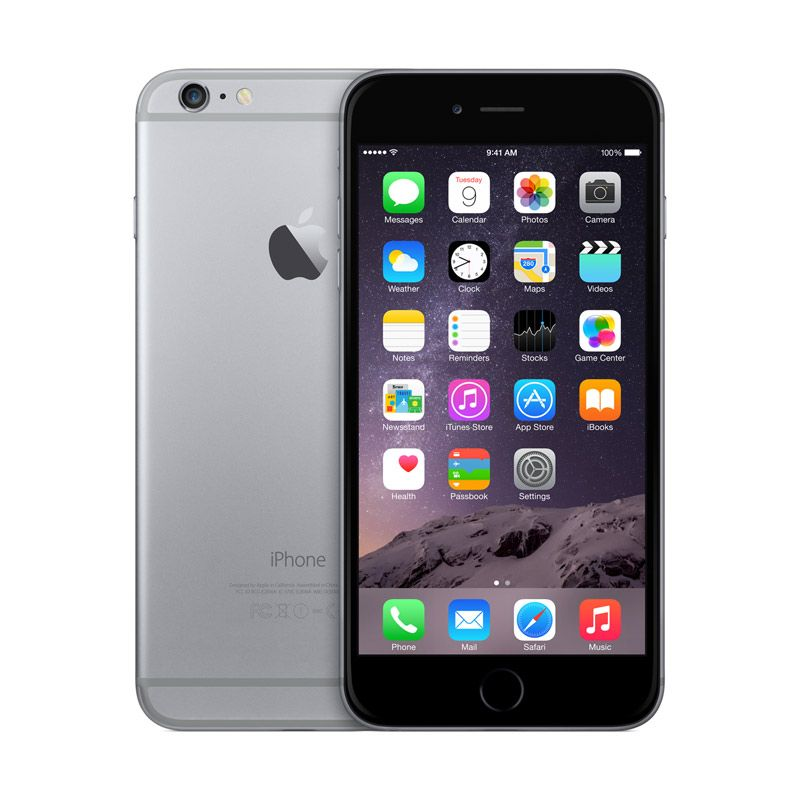 Diskon Apple iPhone 6 Plus 128 GB Space Gray Smartphone