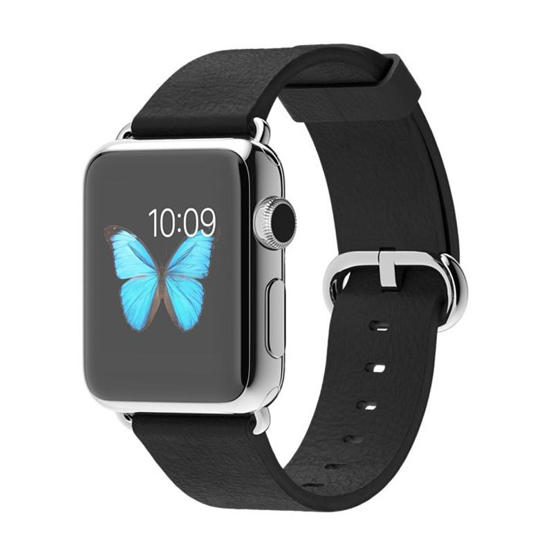 Apple Watch Classic Buckle Black Smartwatch [38 mm]