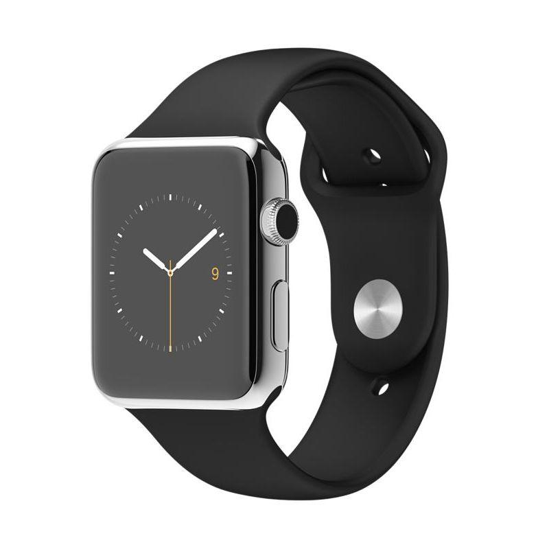 Apple Watch Sport Band Black Smartwatch [42 mm]