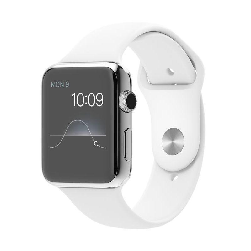 Apple Watch Sport Band White Smartwatch [42mm]