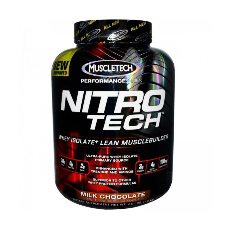 Muscletech Nitrotech Hardcore Performance Suplemen [4 lbs]