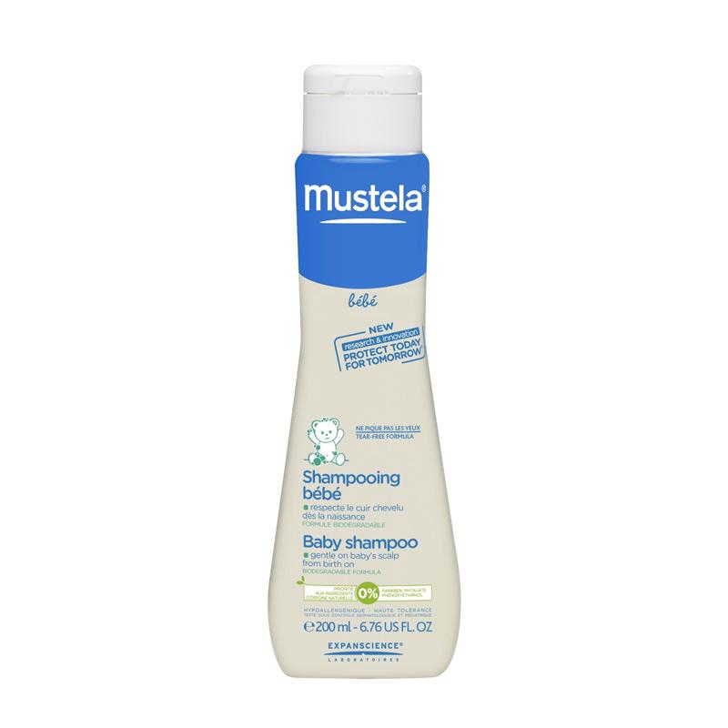 Mustela Baby Shampoo 200ml - PROMO 2 Pk FREE Topi