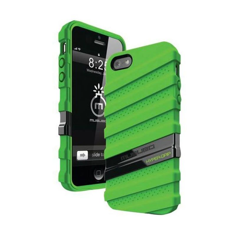 Musubo Hypergrip Green for iPhone 5/5S