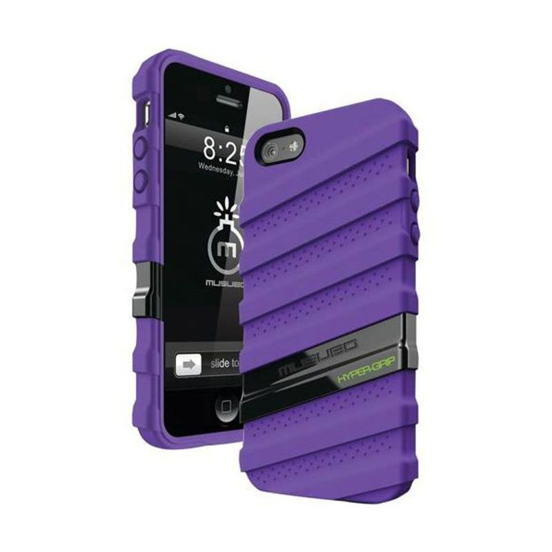 Musubo Hypergrip Purple for iPhone 5/5S