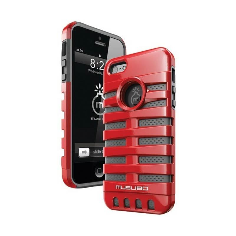 Musubo Retro Red for iPhone 5/5S