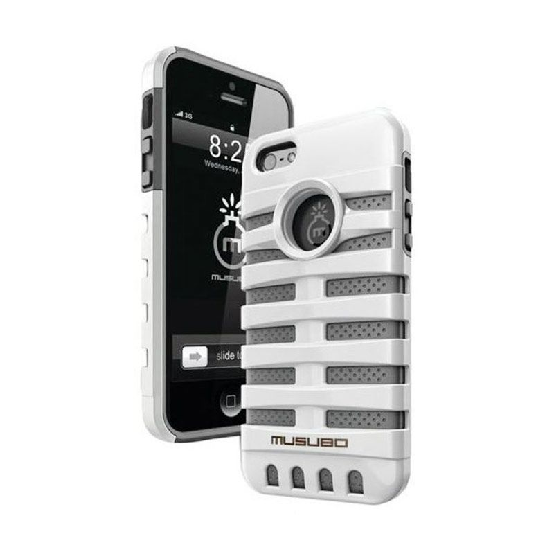 Musubo Retro White for iPhone 5/5S