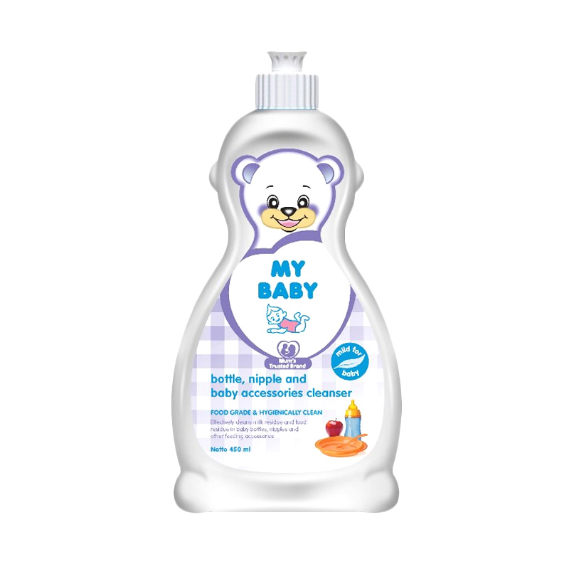 My Baby Bottle Nipple & Baby Accessories Cleanser [450 mL]
