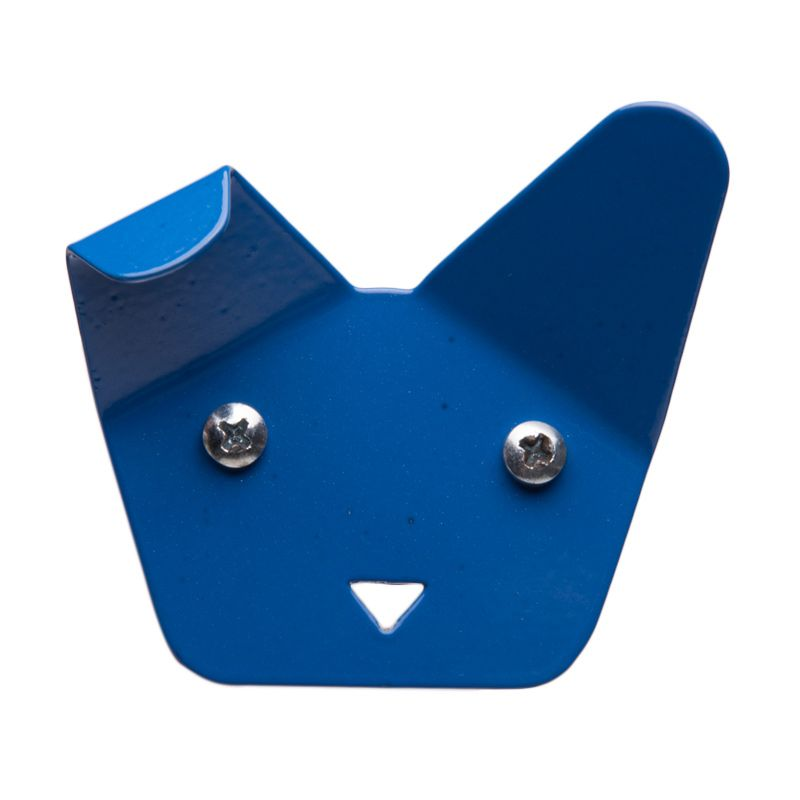 My Choice Decorative Dog Face Design Blue Hanger