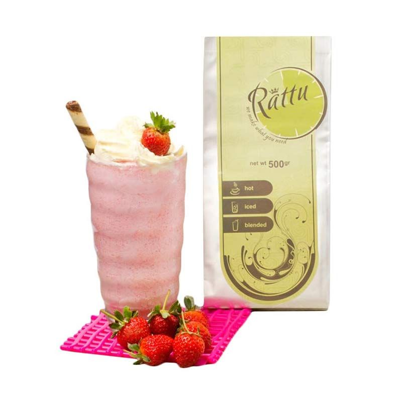 Rattu Beverage Strawberry Minuman Instan