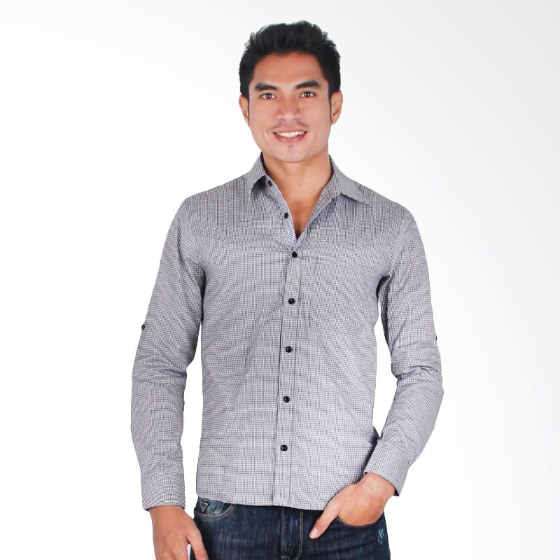 My Doubleve Checkered Shirt Black
