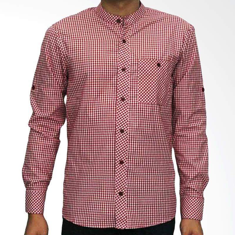 My Doubleve Checkered Shirt Red