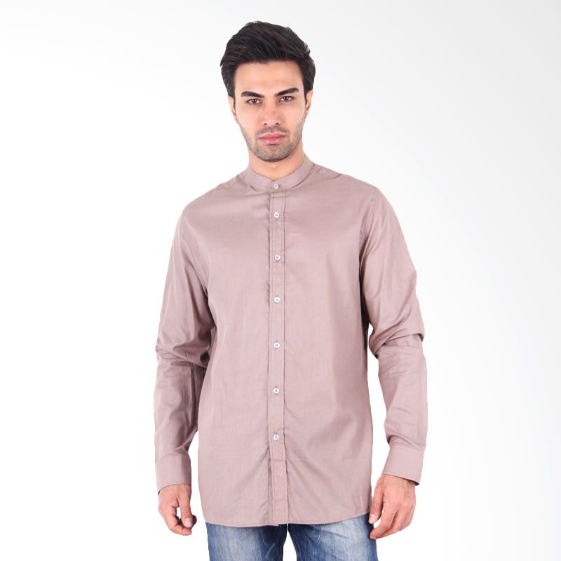 My Doubleve Long Sleeved Monochrome Light Brown