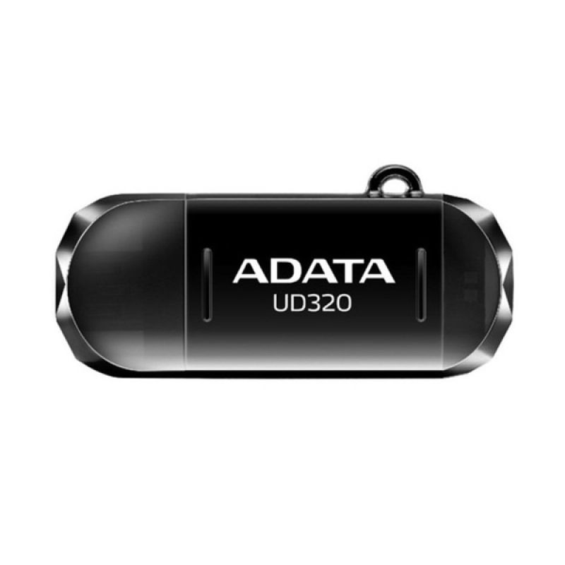 Adata UD320 OTG [16 GB] Hitam USB Flashdisk