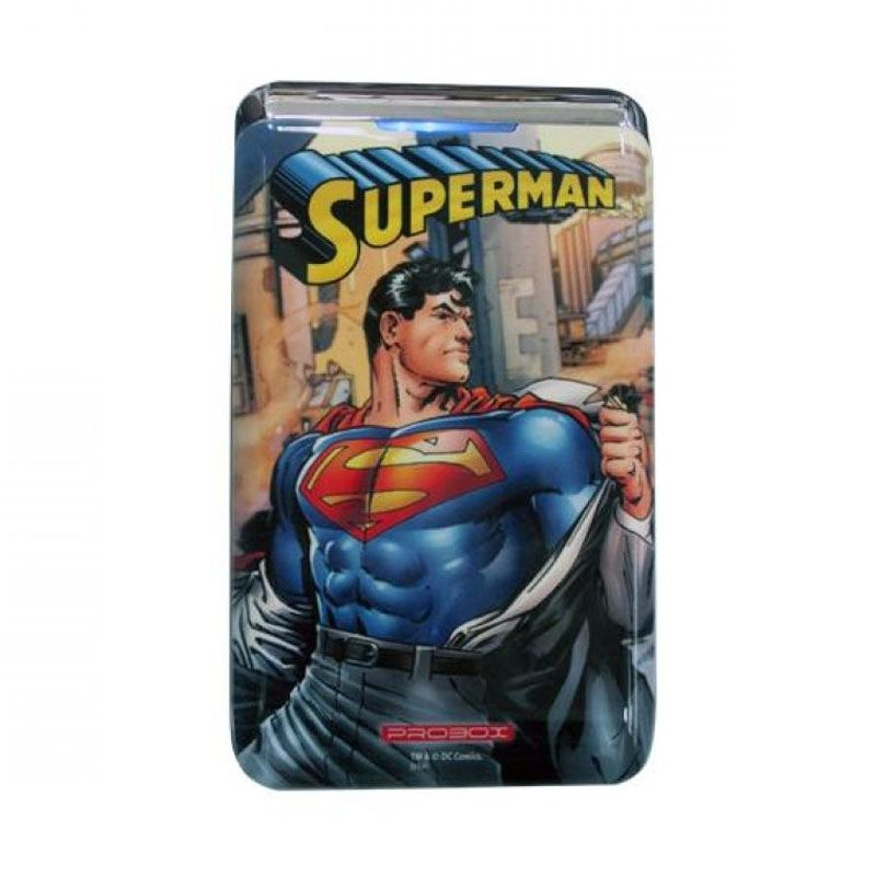 Probox My Power Edisi DC Comic Superman Powerbank [7800 mAh]