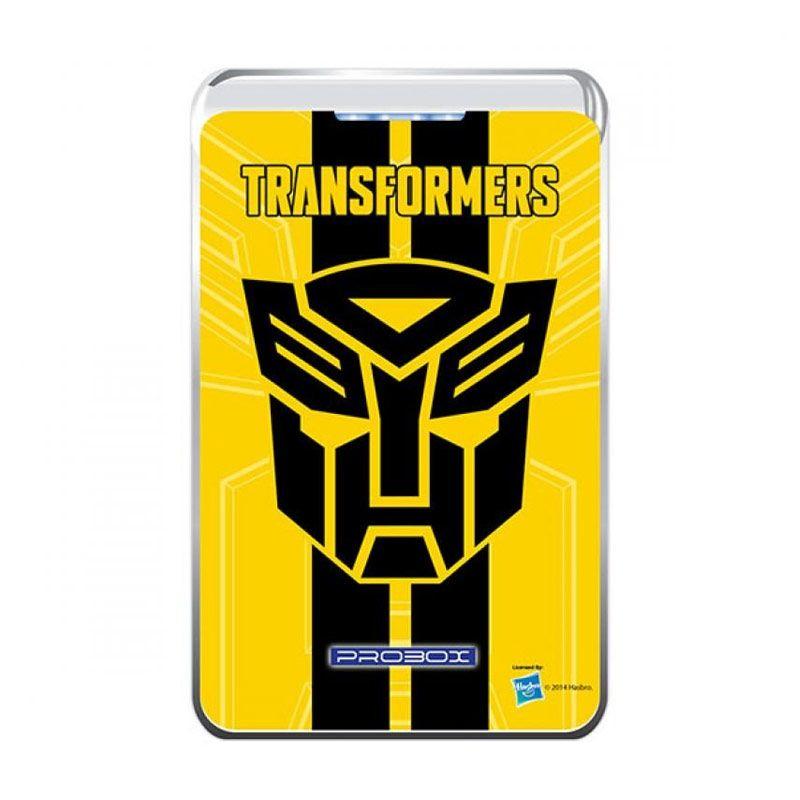 Probox My Power Transformer 4 Logo Yellow Power Bank [7800 mAh]
