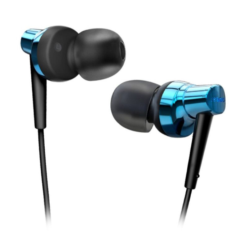 Remax RM 575 Biru Earphone