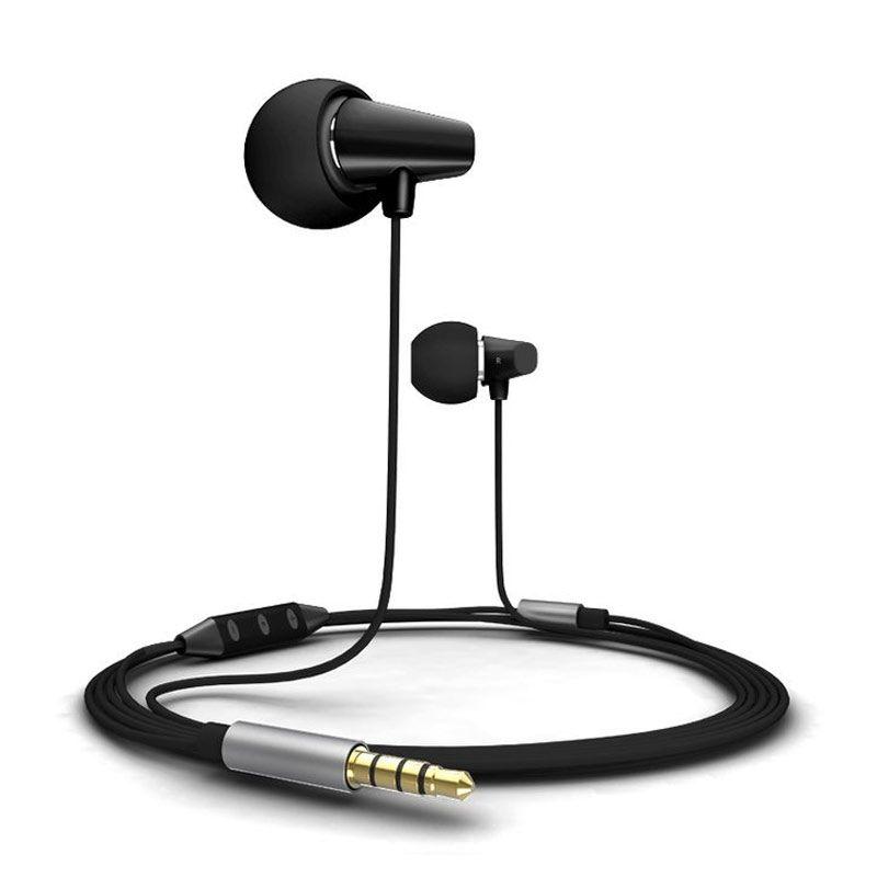 Remax RM 702 Hitam Earphone