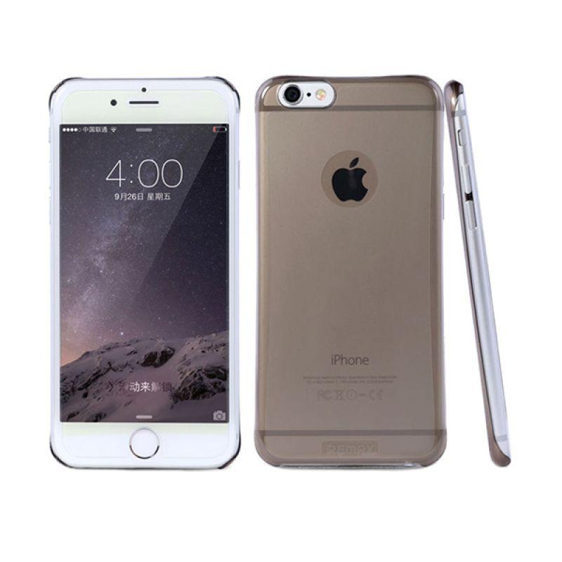 Remax Tsunami Super Slim Soft Cover Transparent White Casing for iPhone 6