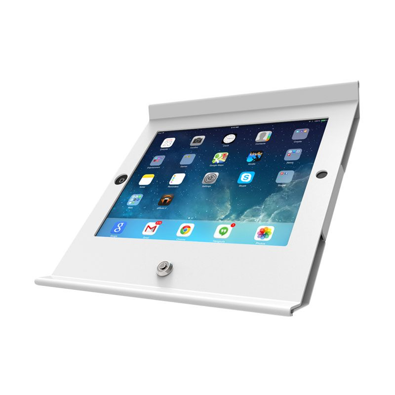 Maclock Basic Mini 250 POSW White Pos Stand for iPad