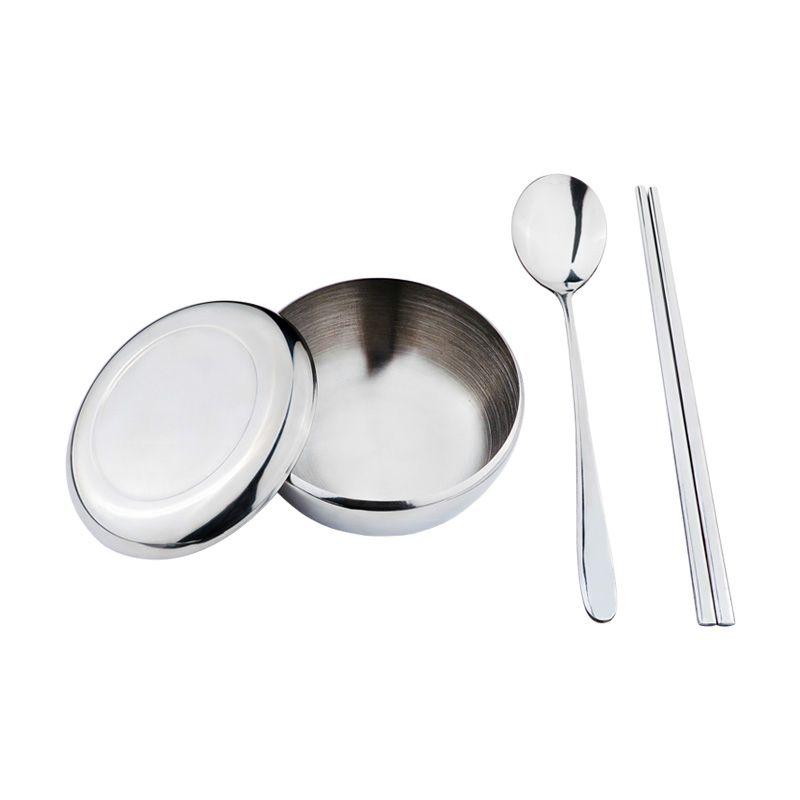 Tanica Korea Set Alat Makan