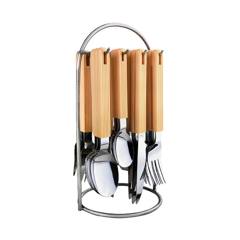 Tanica Linic Stainless Steel Set Alat Makan [25 Pcs]