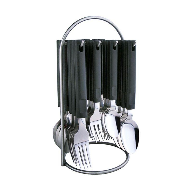 Tanica Nasa Stainless Steel Set Alat Makan [25 Pcs]