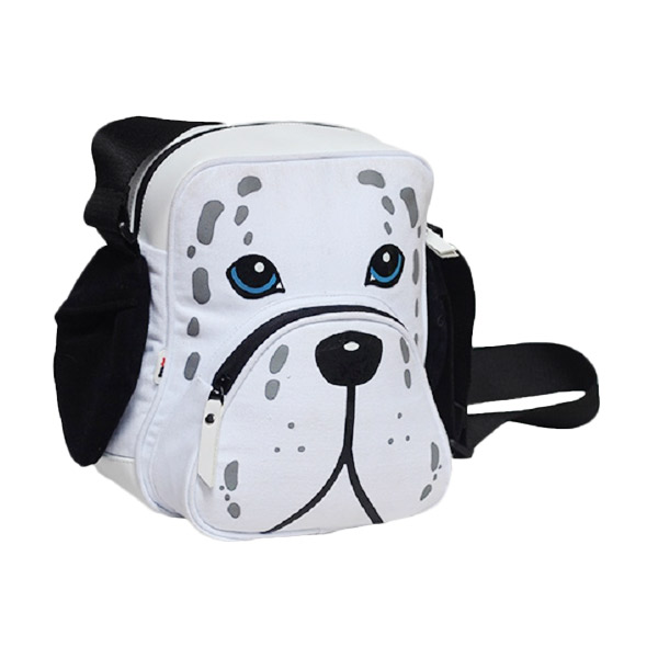 Mydog Indonesia Dog Face Dalmatian Messenger Bag