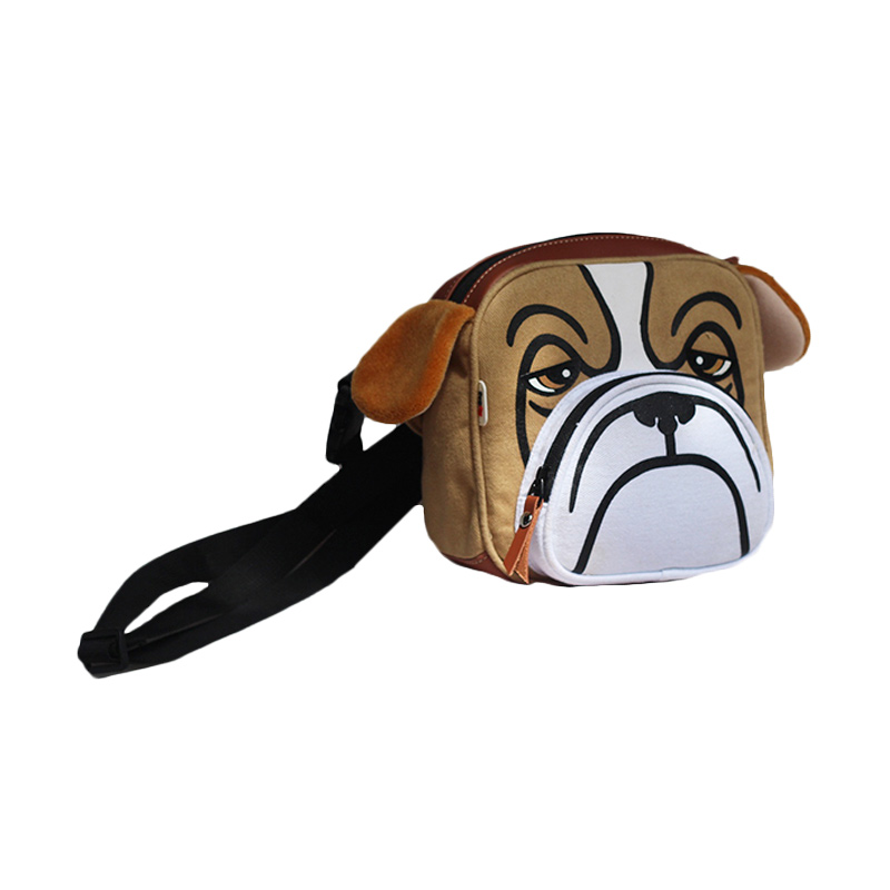 Mydog Indonesia Face Bulldog Waist Bag