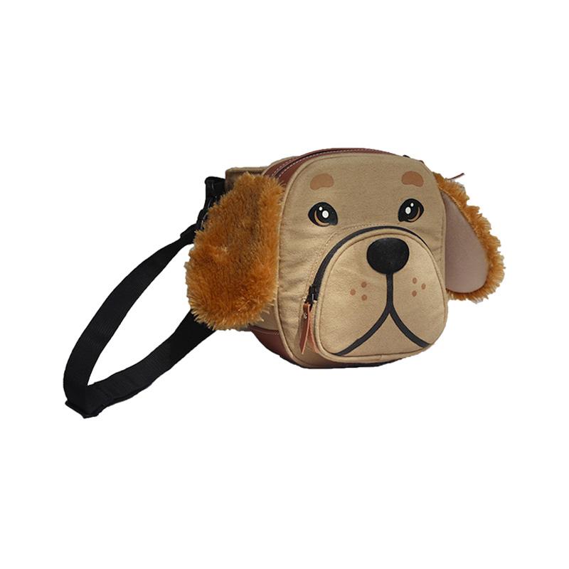 Mydog Indonesia Face Golden Waist Bag